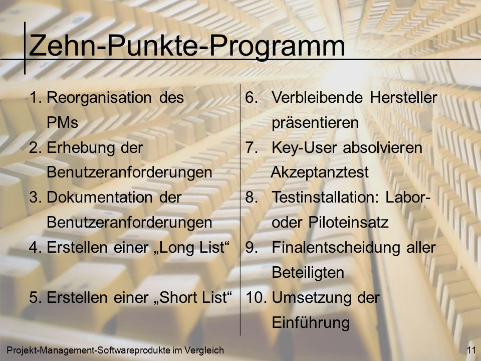 Zehn-Punkte-Programm