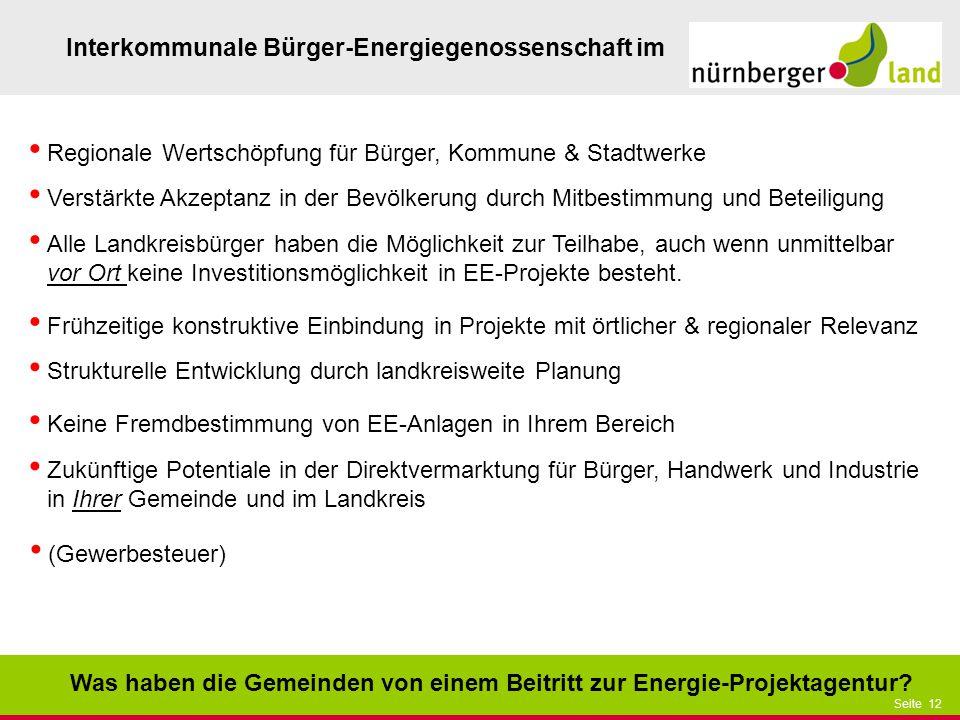 Regionale Wertschöpfung für Bürger, Kommune & Stadtwerke