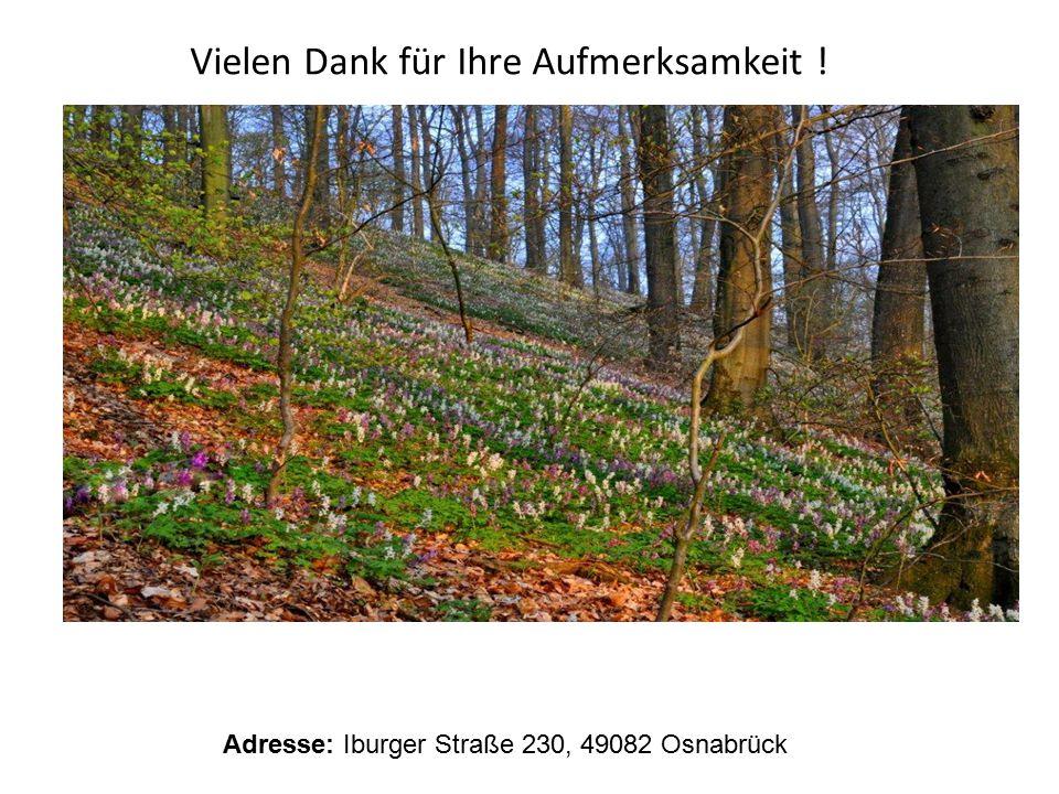 Adresse: Iburger Straße 230, 49082 Osnabrück