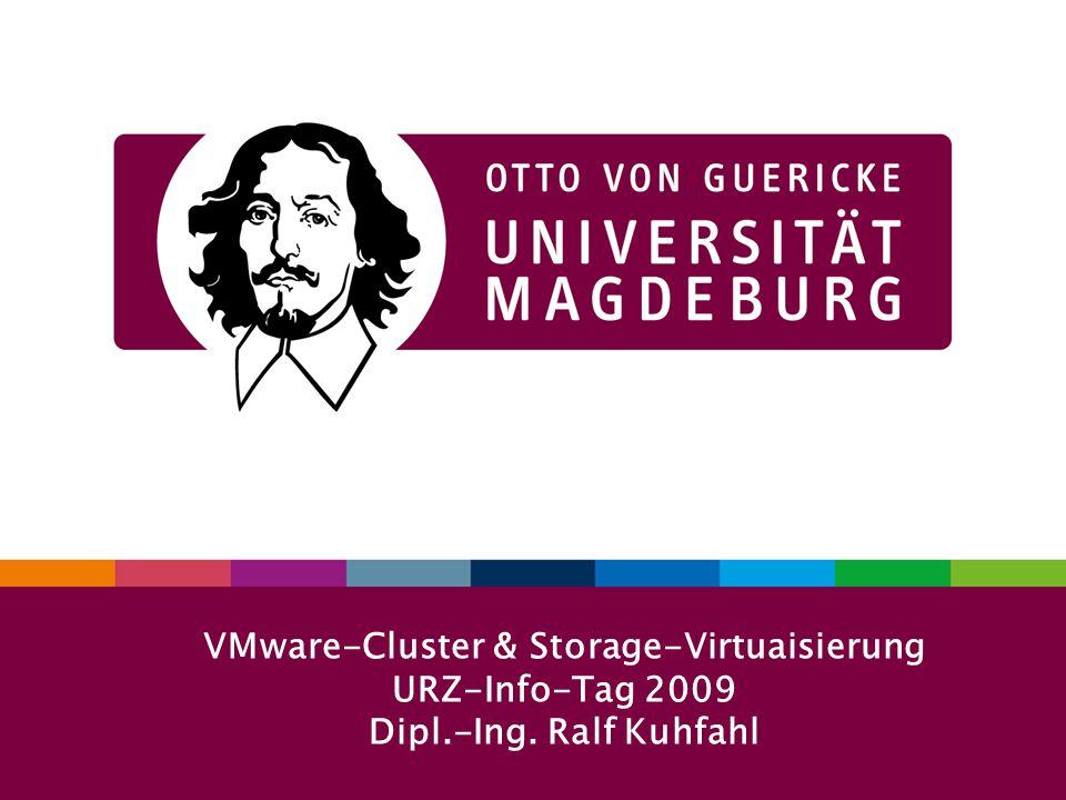 VMware-Cluster & Storage-Virtuaisierung