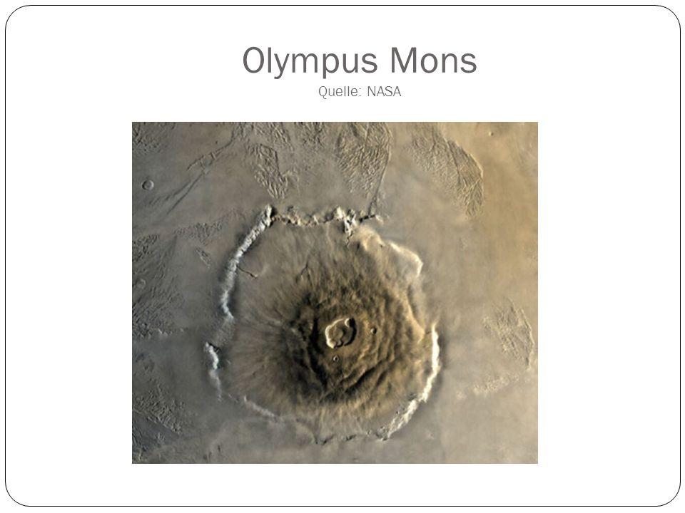 Olympus Mons Quelle: NASA