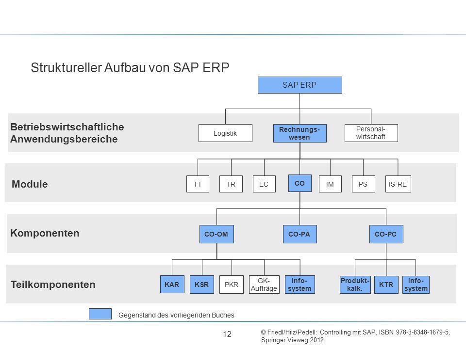 Struktureller Aufbau von SAP ERP