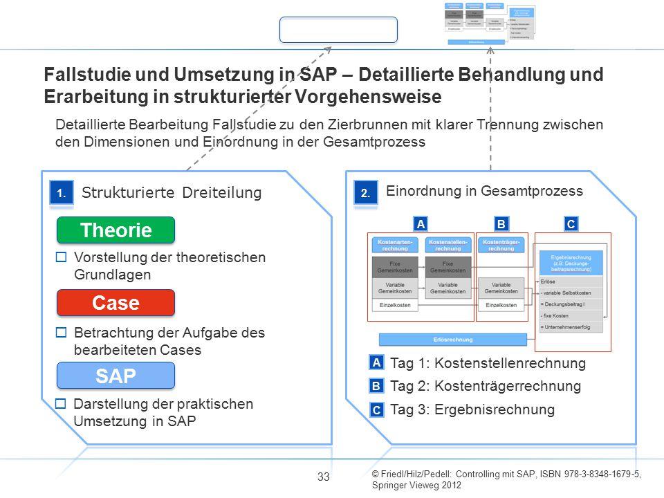 Fallstudie und Umsetzung in SAP – Detaillierte Behandlung und Erarbeitung in strukturierter Vorgehensweise