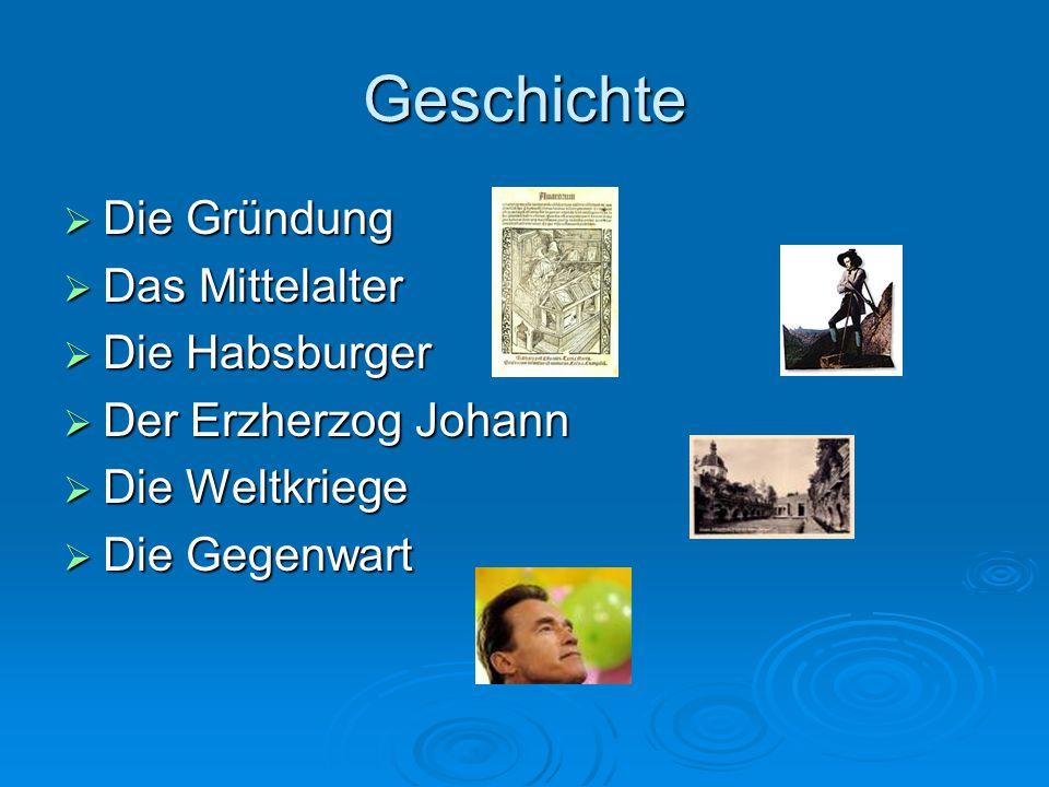 Geschichte Die Gründung Das Mittelalter Die Habsburger