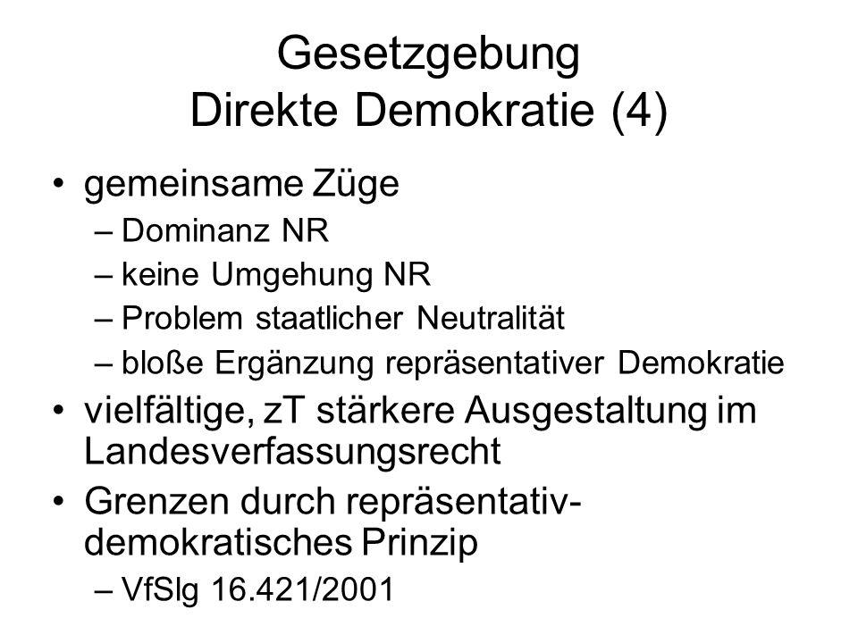 Gesetzgebung Direkte Demokratie (4)