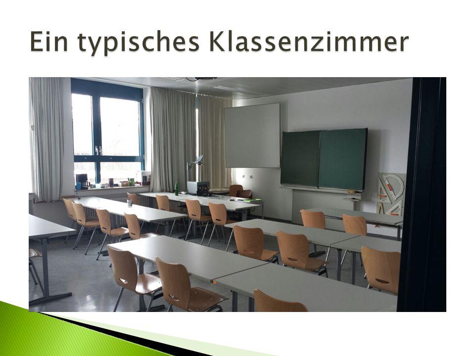 Ein typisches Klassenzimmer
