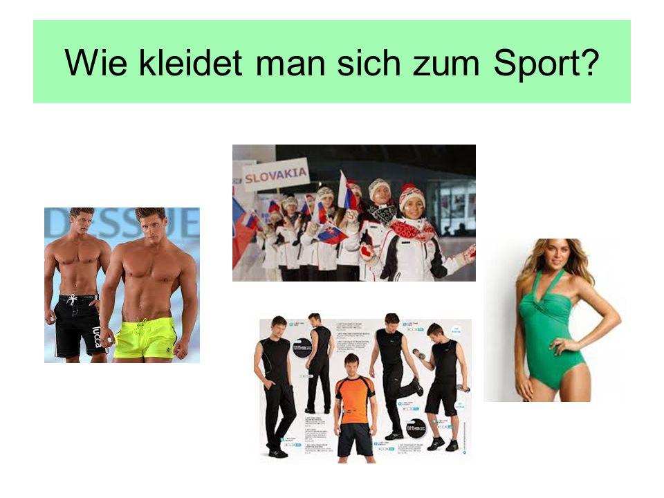Wie kleidet man sich zum Sport