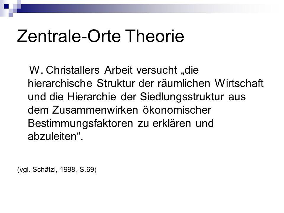 Zentrale-Orte Theorie