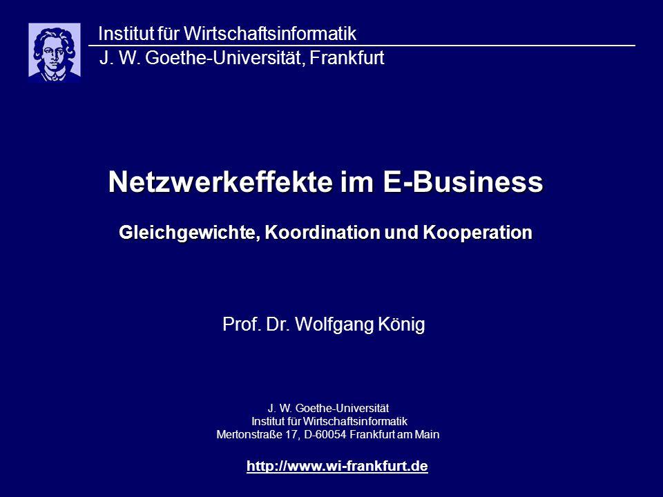 Netzwerkeffekte im E-Business