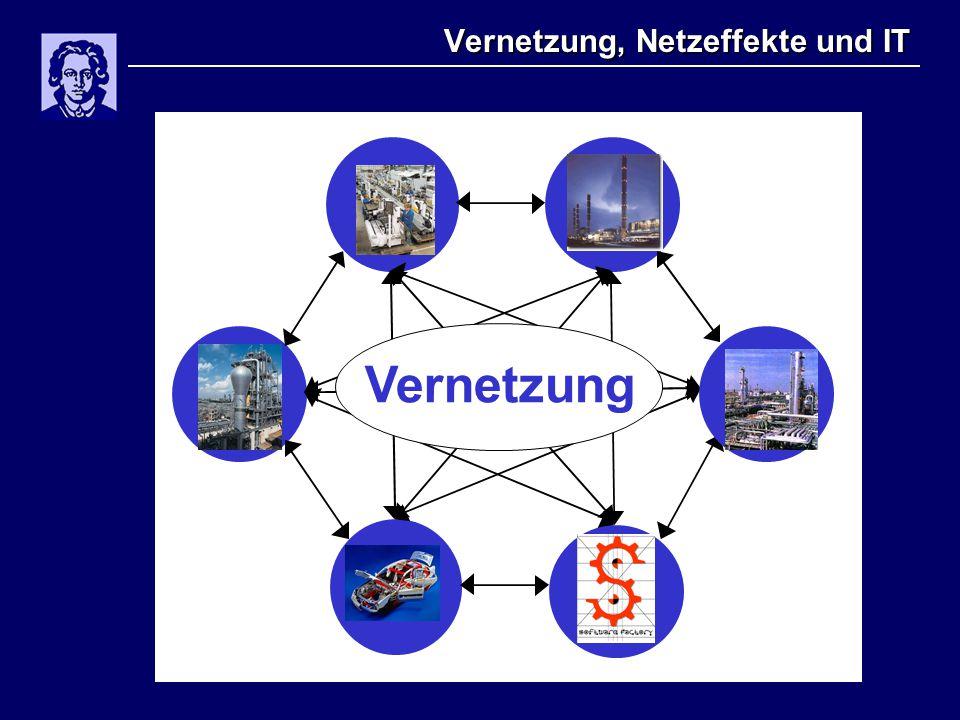 Vernetzung, Netzeffekte und IT