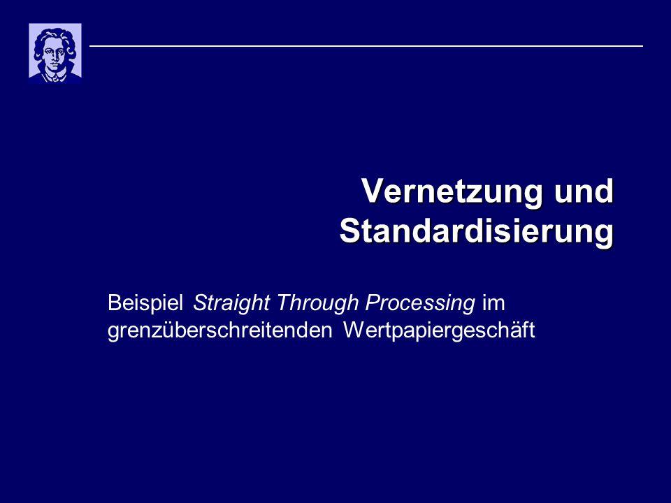 Vernetzung und Standardisierung