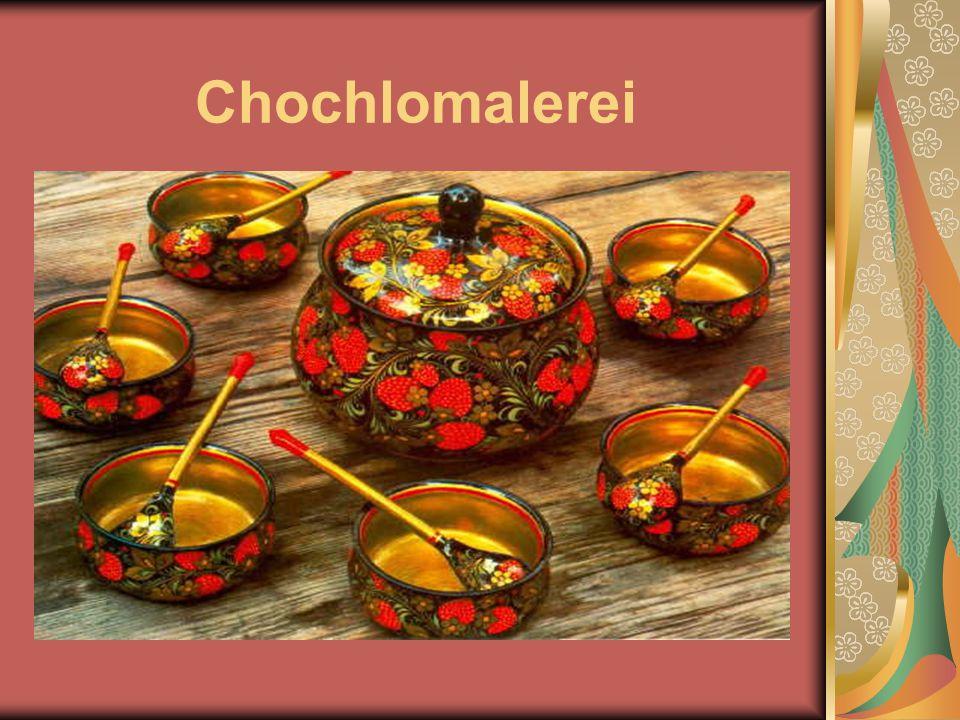 Chochlomalerei