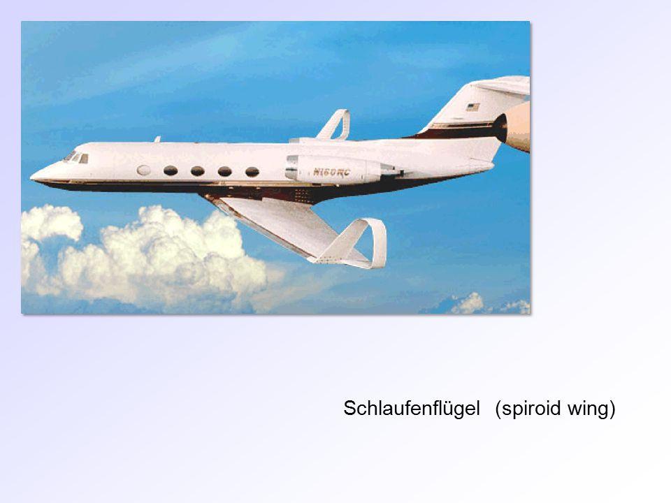 Schlaufenflügel (spiroid wing)