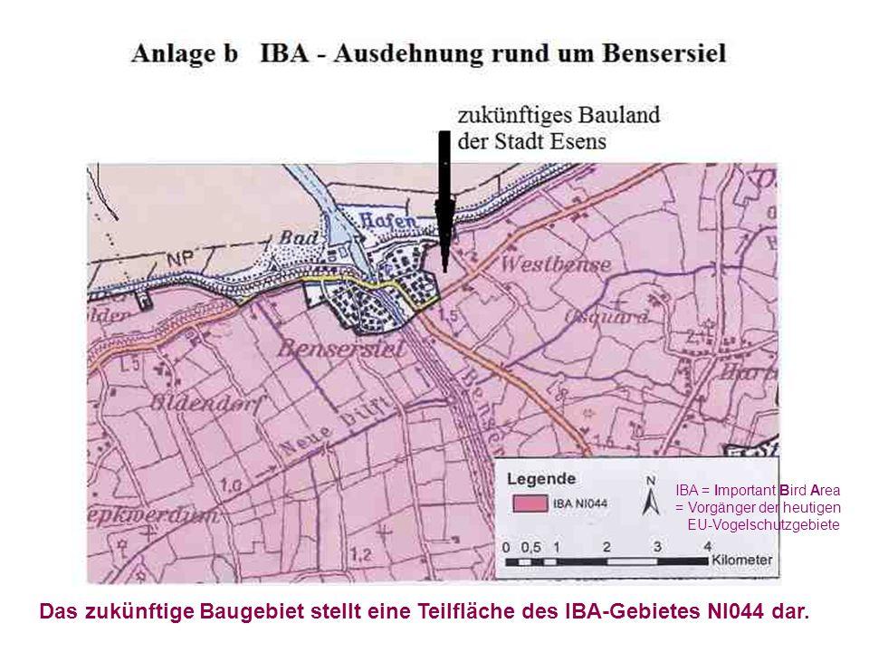 IBA = Important Bird Area