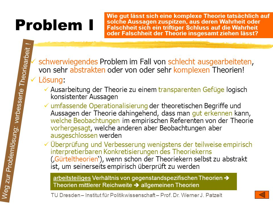 Problem I