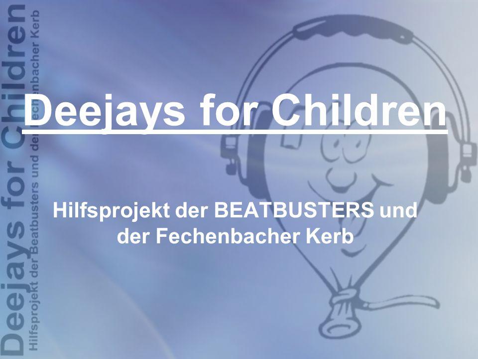 Hilfsprojekt der BEATBUSTERS und der Fechenbacher Kerb