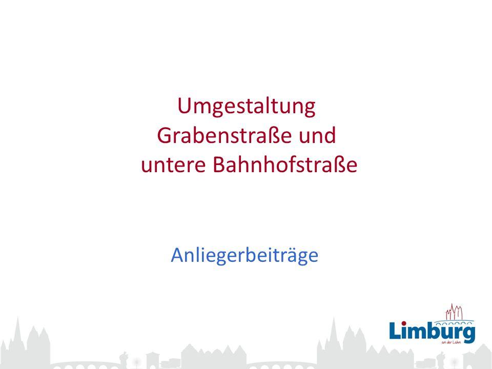 Umgestaltung Grabenstraße und