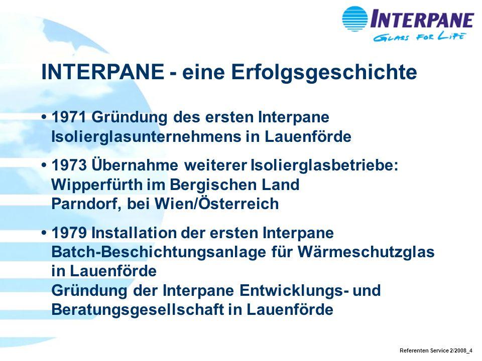 INTERPANE - eine Erfolgsgeschichte