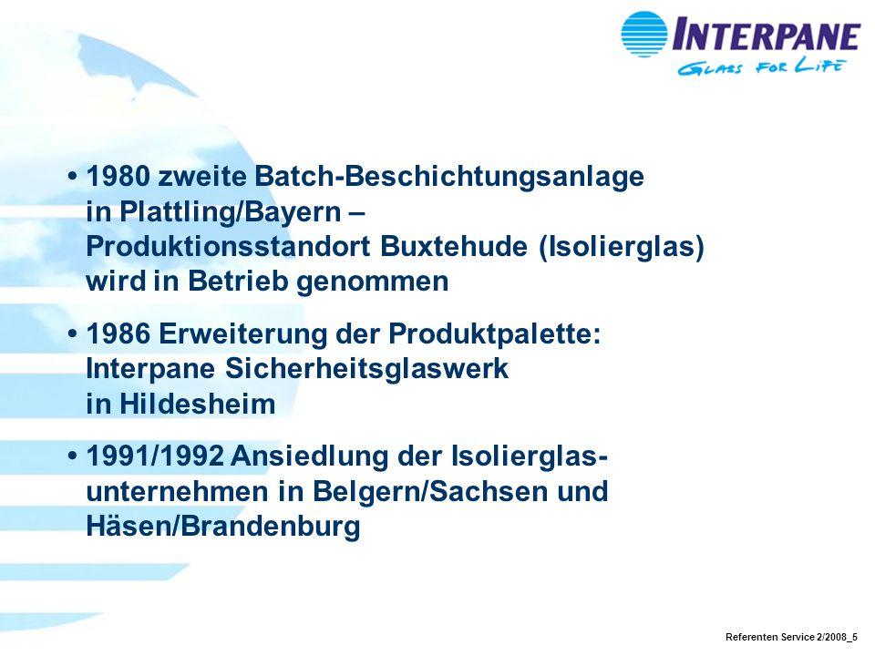 •. 1980 zweite Batch-Beschichtungsanlage. in Plattling/Bayern –