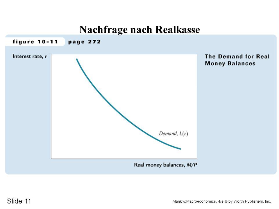 Nachfrage nach Realkasse