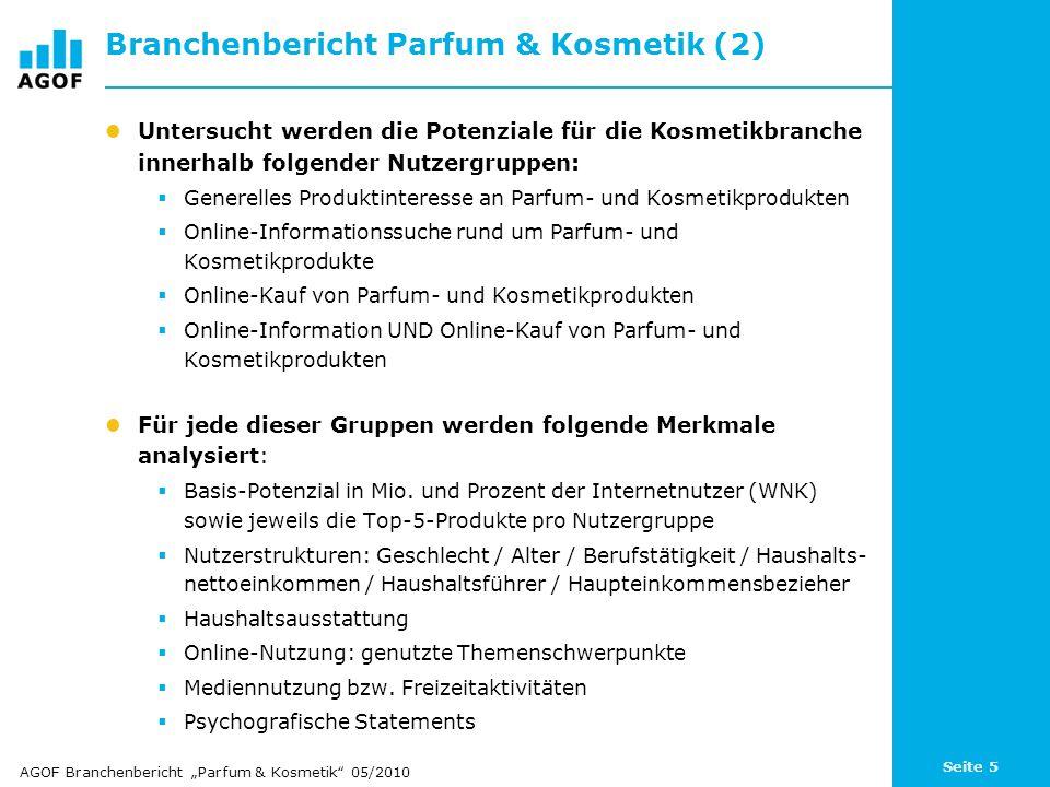 Branchenbericht Parfum & Kosmetik (2)