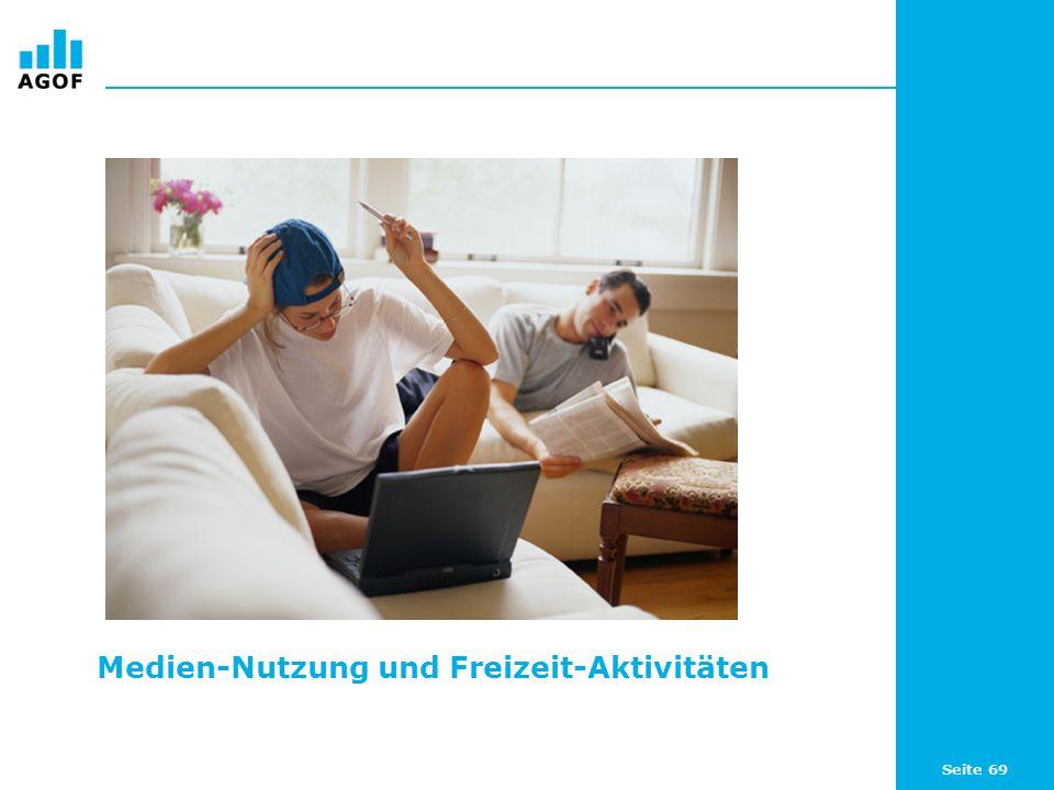 Medien-Nutzung und Freizeit-Aktivitäten