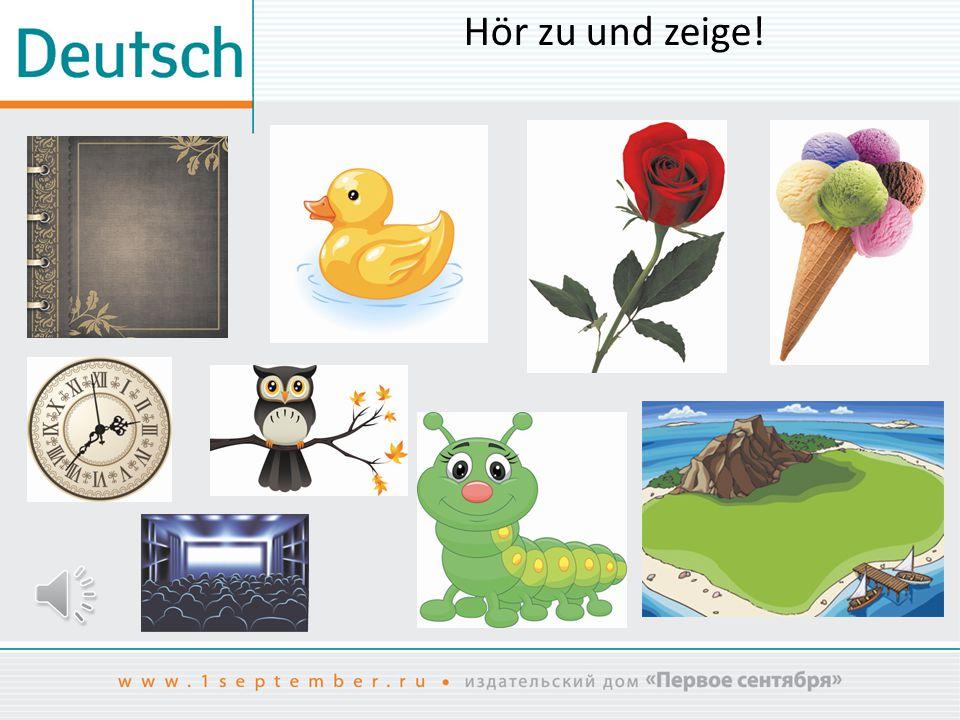 Hör zu und zeige! www.shutterstock.com