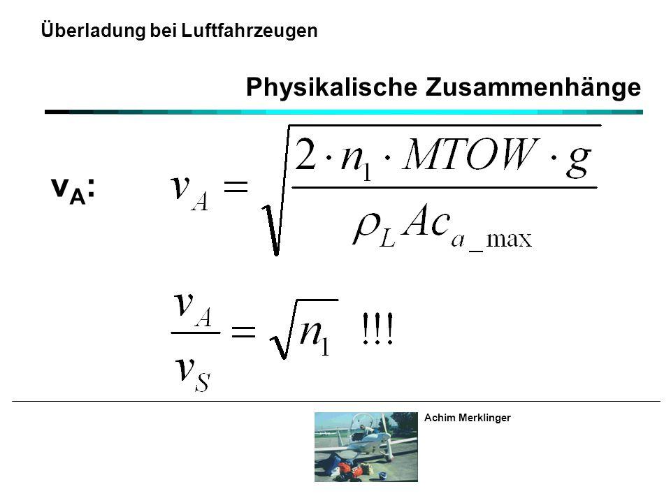 Physikalische Zusammenhänge
