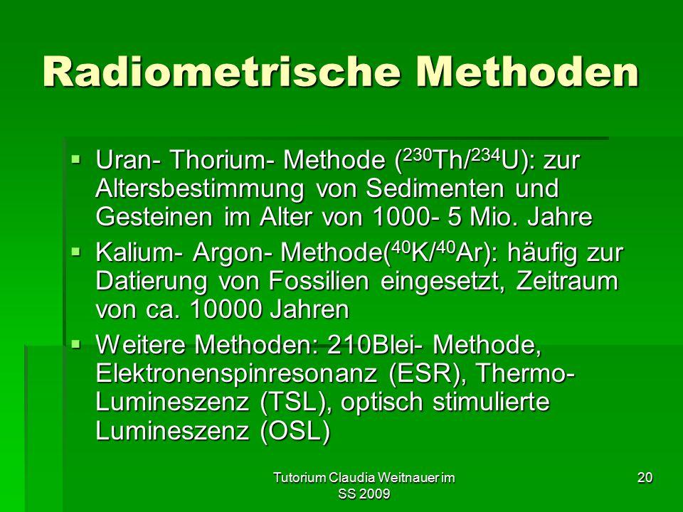 Radiometrische Methoden