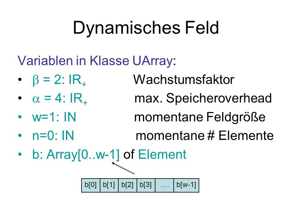Dynamisches Feld Variablen in Klasse UArray: