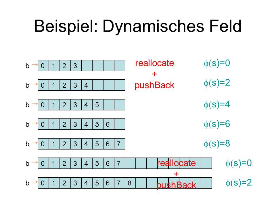 Beispiel: Dynamisches Feld