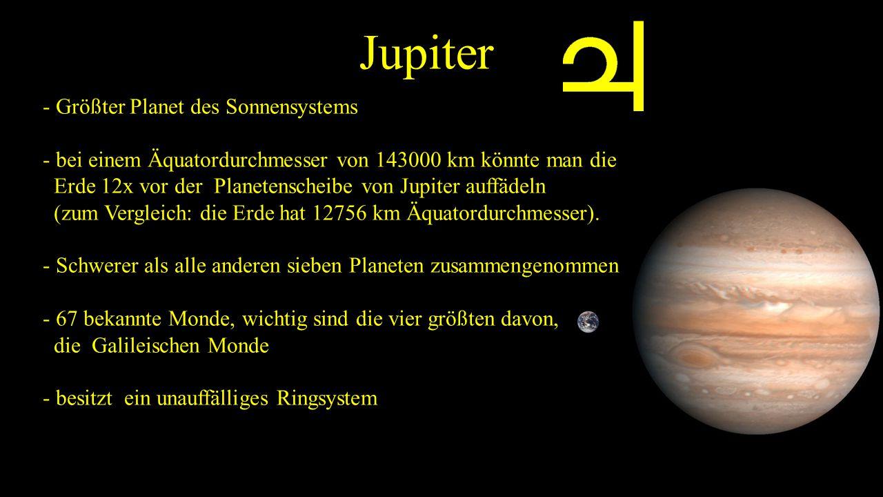 Jupiter - Größter Planet des Sonnensystems
