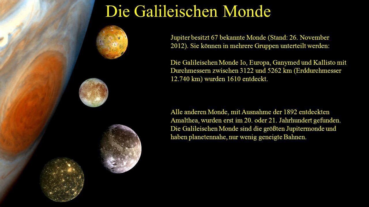 Die Galileischen Monde
