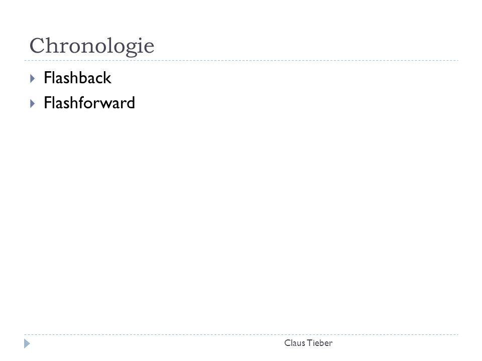 Chronologie Flashback Flashforward Claus Tieber