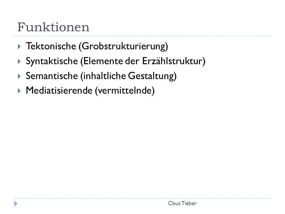 Funktionen Tektonische (Grobstrukturierung)