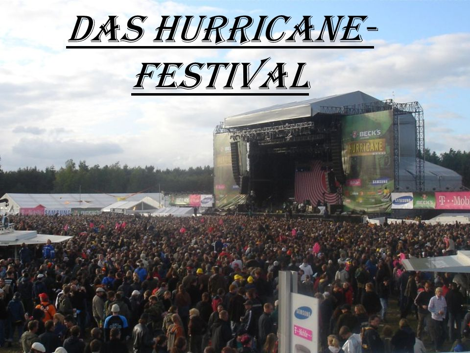 Das Hurricane-Festival