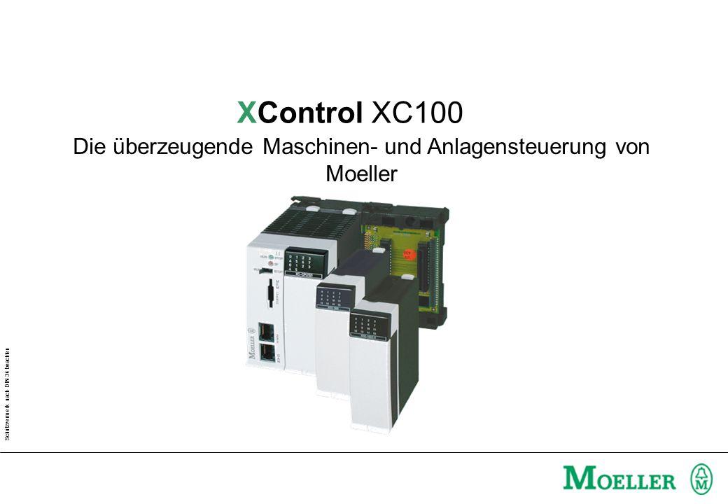 Die überzeugende Maschinen- und Anlagensteuerung von Moeller