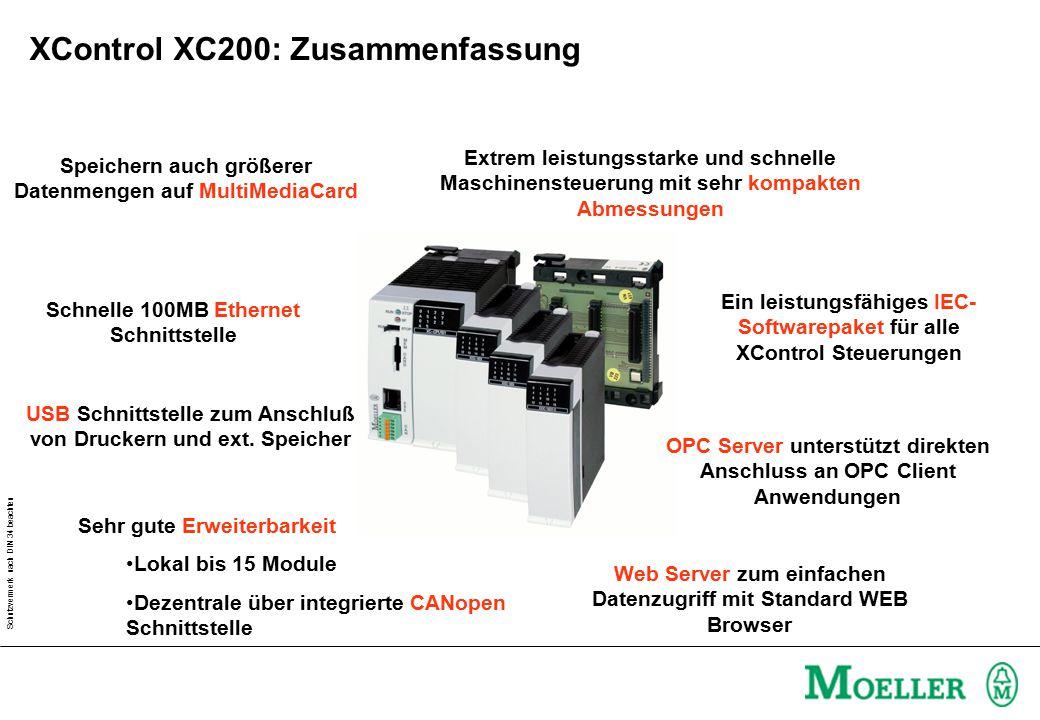 XControl XC200: Zusammenfassung