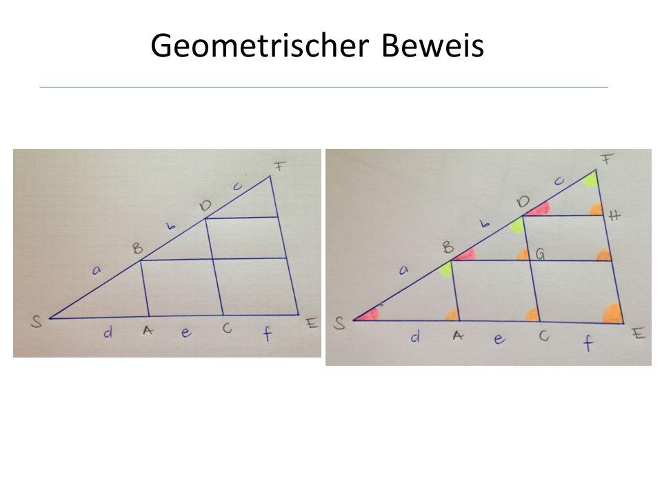 Geometrischer Beweis