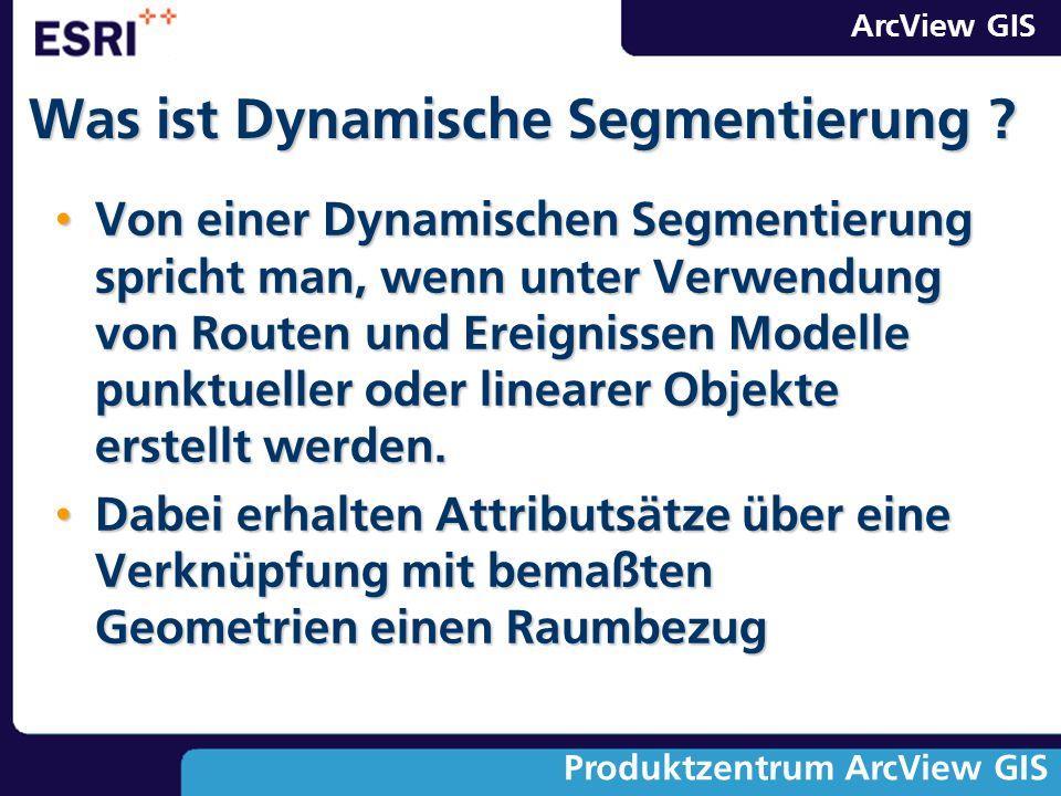 Was ist Dynamische Segmentierung