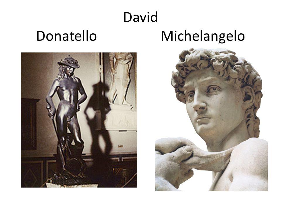 David Donatello Michelangelo