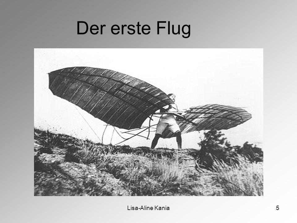Der erste Flug Lisa-Aline Kania
