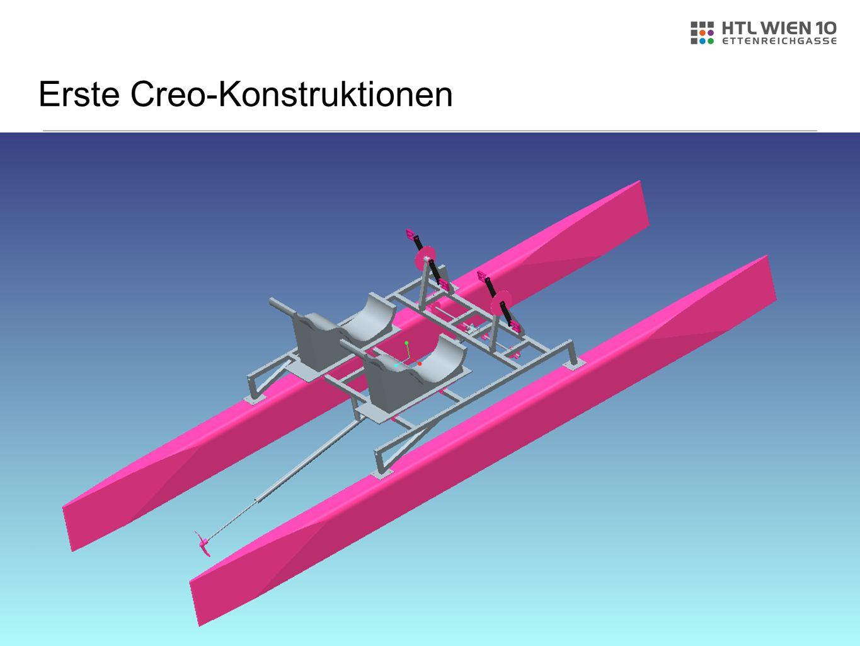Erste Creo-Konstruktionen
