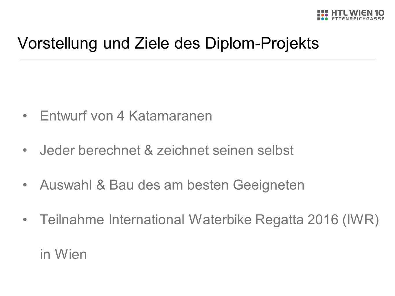 Vorstellung und Ziele des Diplom-Projekts