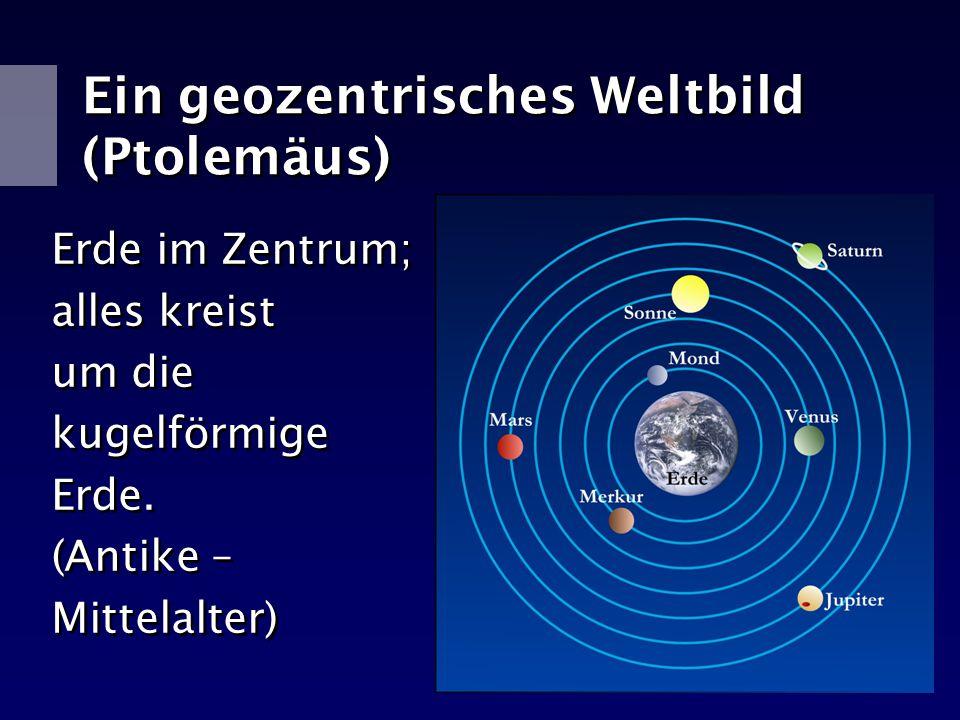 Ein geozentrisches Weltbild (Ptolemäus)