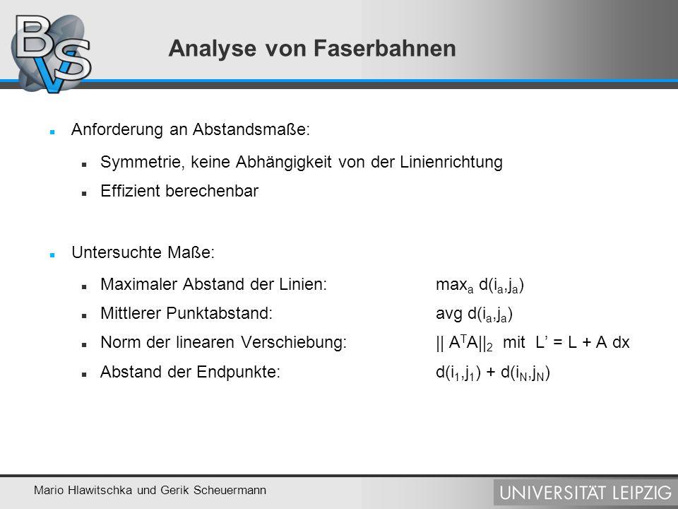 Analyse von Faserbahnen