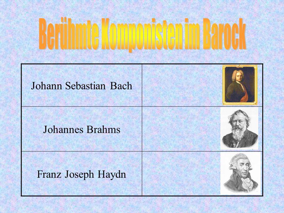 Berühmte Komponisten im Barock
