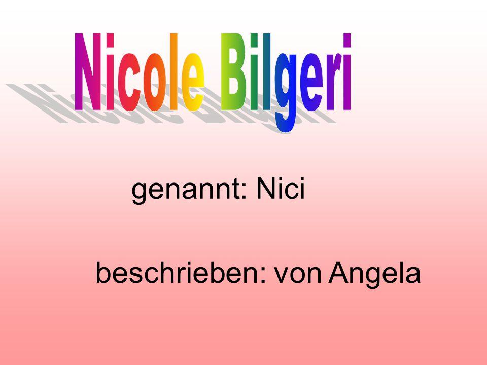 beschrieben: von Angela