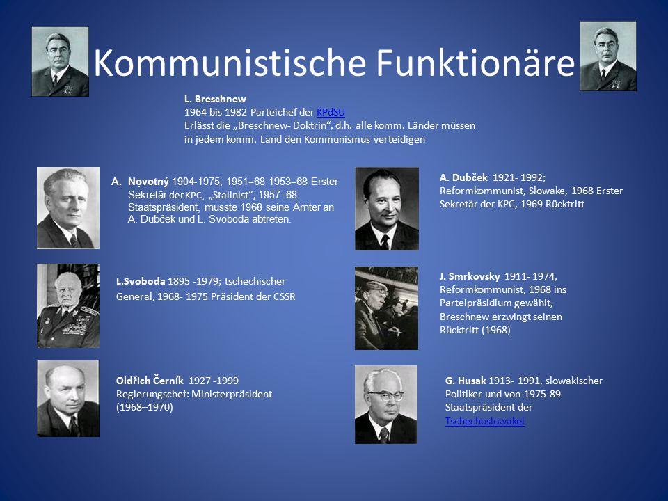 Kommunistische Funktionäre