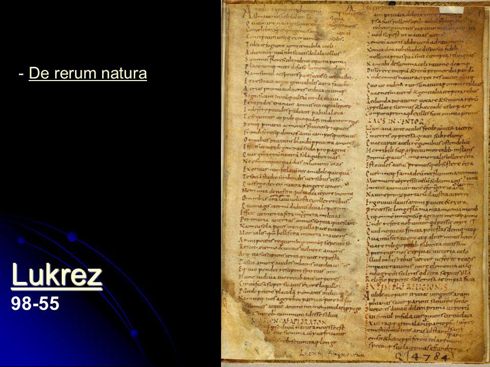 Lukrez 98-55 De rerum natura